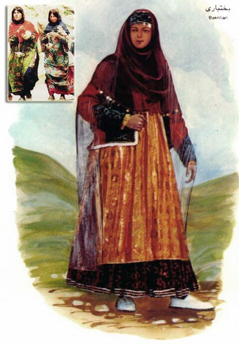 Bakhtiari woman
