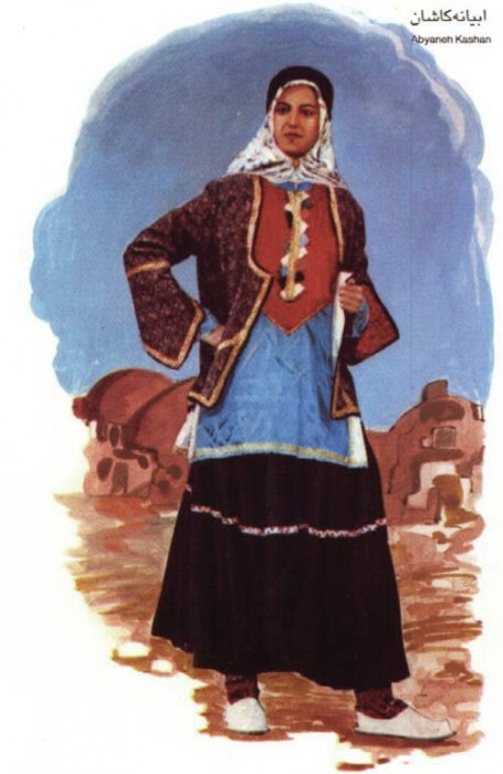 Kashani woman