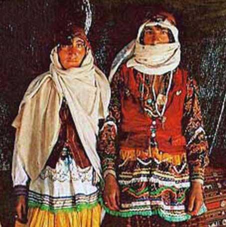 اموزش ارایش زلف قشقایی اپارات لباس های محلی زنان ایران
