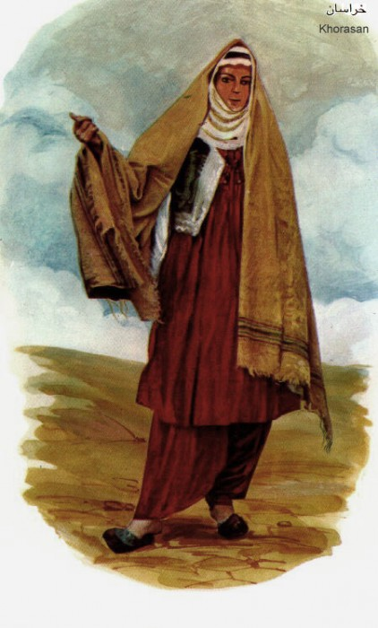 Khorasani woman
