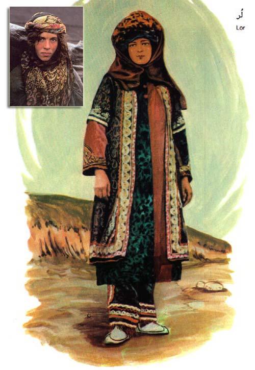 انواع می کردی لباس های محلی زنان ایران