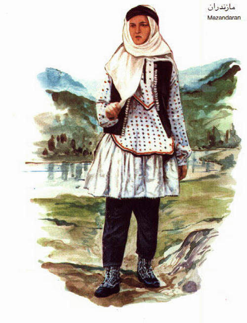 Mazandarani woman