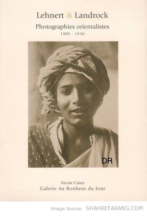 "The book ""Lehnert and Landrock: Photographies Orientalistes 1905-1930"""