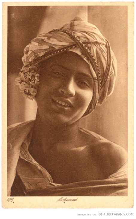 &quot;Mohamed&quot;, post card produced by Lehnert and Landrock