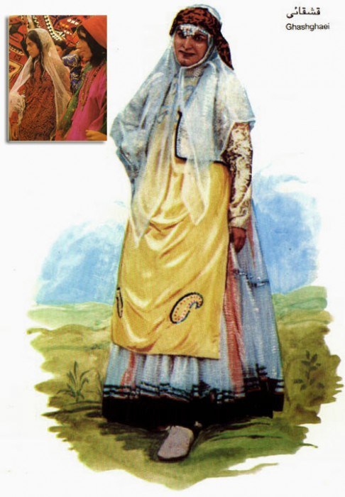 Qashqai woman