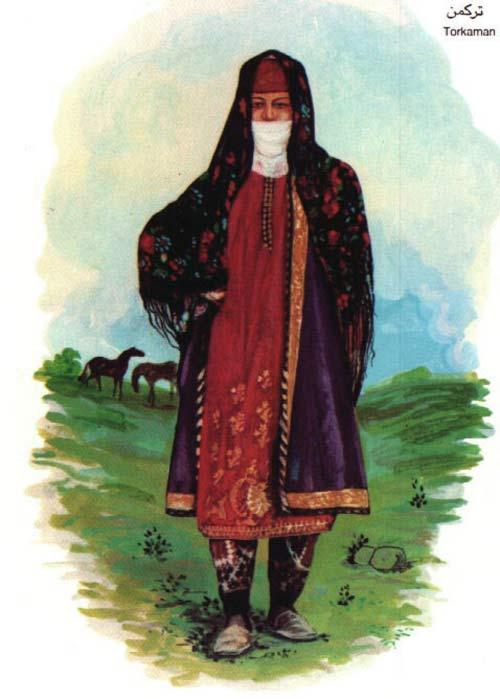 زن ترکمن