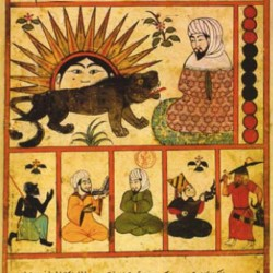Ibn Balkhi manuscript on astronomy