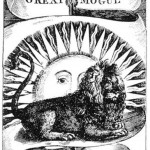Lion and Sun of Mogul Empire in India