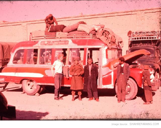 New Zealander Tourist in Iran - 1960 (3)