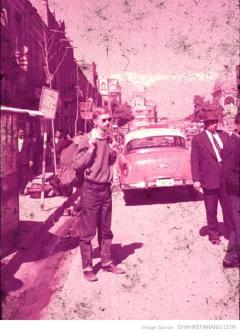 New Zealander Tourist in Iran - 1960 (2)