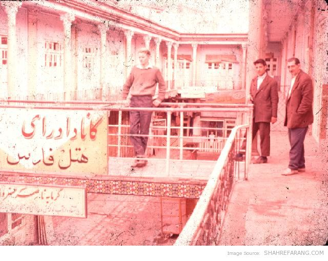 New Zealander Tourist in Iran - 1960 (1)