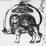 Lion and Sun in the Iranian Qajar Passport, 1852