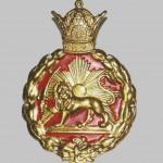 Lion and Sun on Pahlavi Era Police Cap