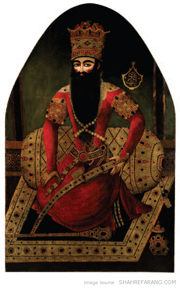 Fath-Ali Shah, attributable to Mirza Baba