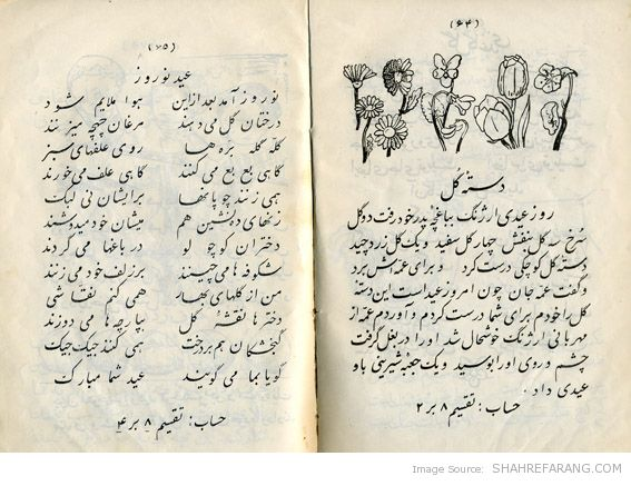 Iranian First Grade Textbook (~1945) (1)