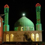 An Iranian Neon Mosque