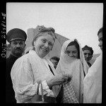 Mrs. Dreyfus Touring Southern Tehran