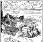 Edmund J Sullivan Illustrations to The Rubaiyat of Omar Khayyam (73)