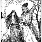 Edmund J Sullivan Illustrations to The Rubaiyat of Omar Khayyam (62)