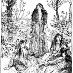 Edmund J Sullivan Illustrations to The Rubaiyat of Omar Khayyam (1)