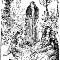 Edmund J Sullivan Illustrations to The Rubaiyat of Omar Khayyam