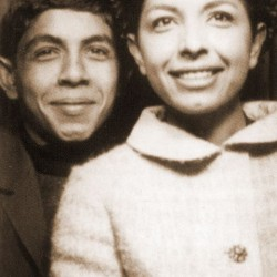Kaveh Golestan and his sister Lili Golestan