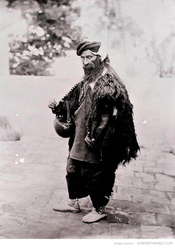 Dervish, Photographer: Antoin Sevruguin, around 1901