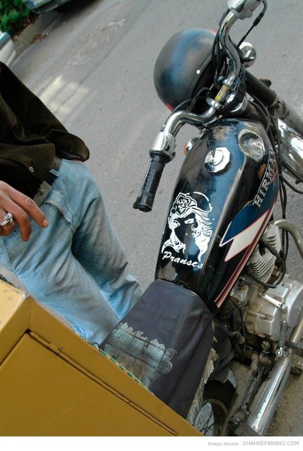 An Iranian Motorcycle