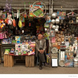 Shopkeeper in Shahr-e Rey, Tehran