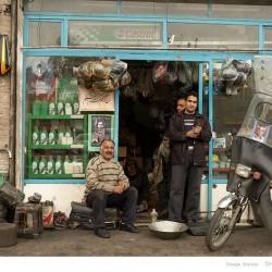 Motorbike repair, Molavi Street, Tehran