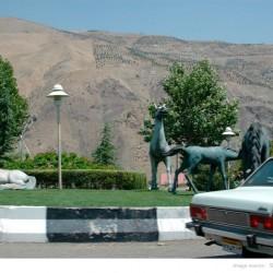 میدان لواسان، اطراف تهران، ۱۳۸۵ - Lavasan Circle (Tehran Suburb), 2006