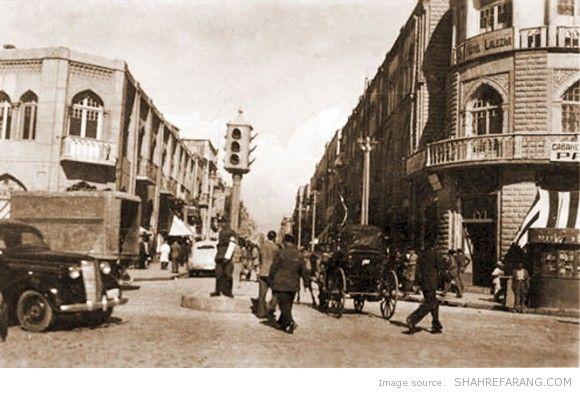 Lalezar avenue, the 1930