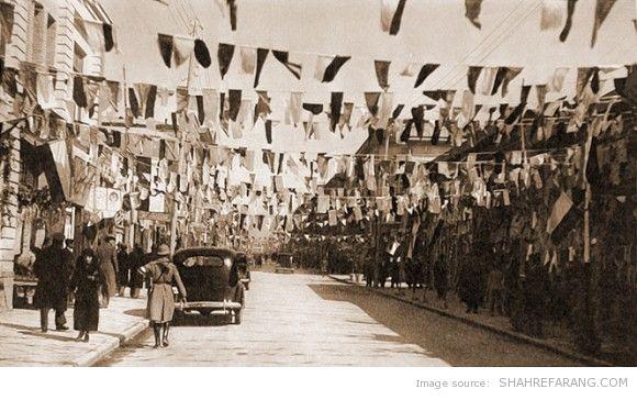 Lalezar avenue, 1937