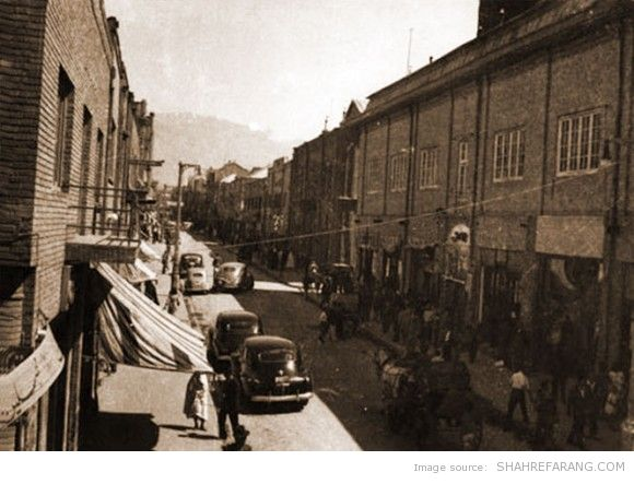 Lalezar avenue, 1942