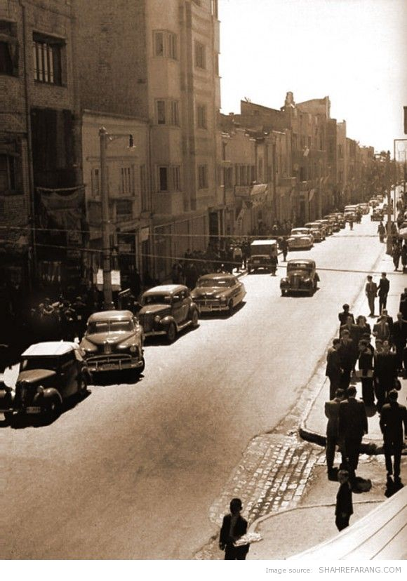 Lalezar avenue, 1946