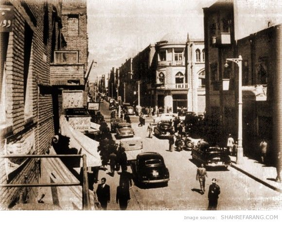 Lalezar avenue, 1947