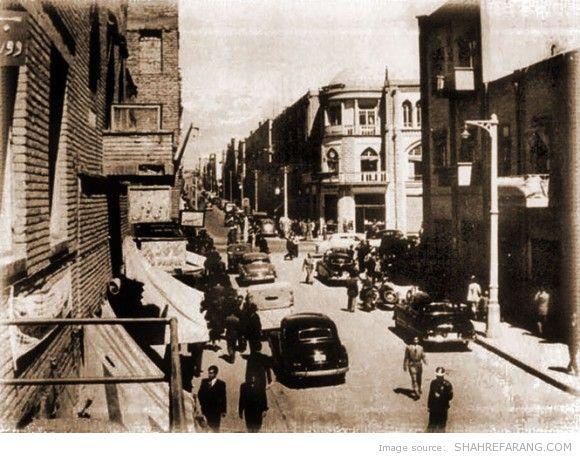 Lalezar avenue, 1947