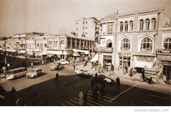 Lalezar avenue, Late 1950s