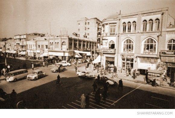 Lalezar avenue, Late 1950s
