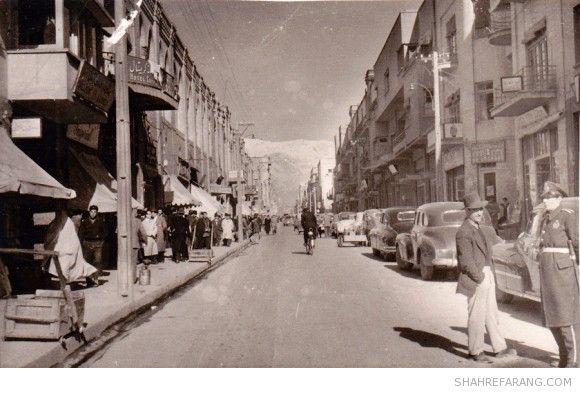 Lalezar avenue, ~Late 1940s