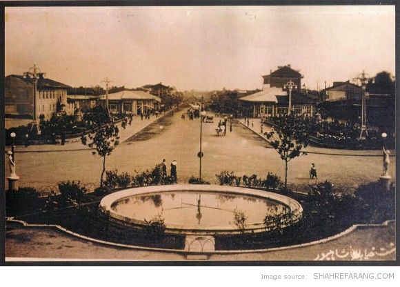 Shahpoor Avenue, Rasht, 1934
