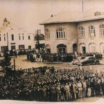 Rasht Municipality (City Hall)، Savoy Hotel، and Mayak Cinema, 1949 - ساختمان شهرداری، هتل ساوی، و سینمای مایاک، ۱۳۲۸ (۱۹۴۹ میلادی)