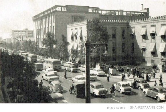 Banke Melli Building (The National Bank), Ferdowsi Ave, 1950s