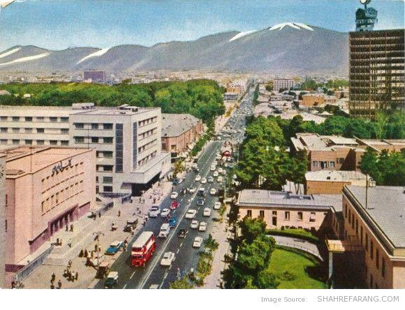 Ferdowsi Avenue, 1962