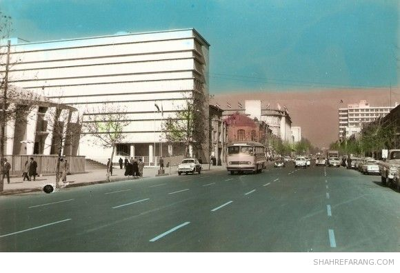 Ferdowsi Avenue, Early 1960s