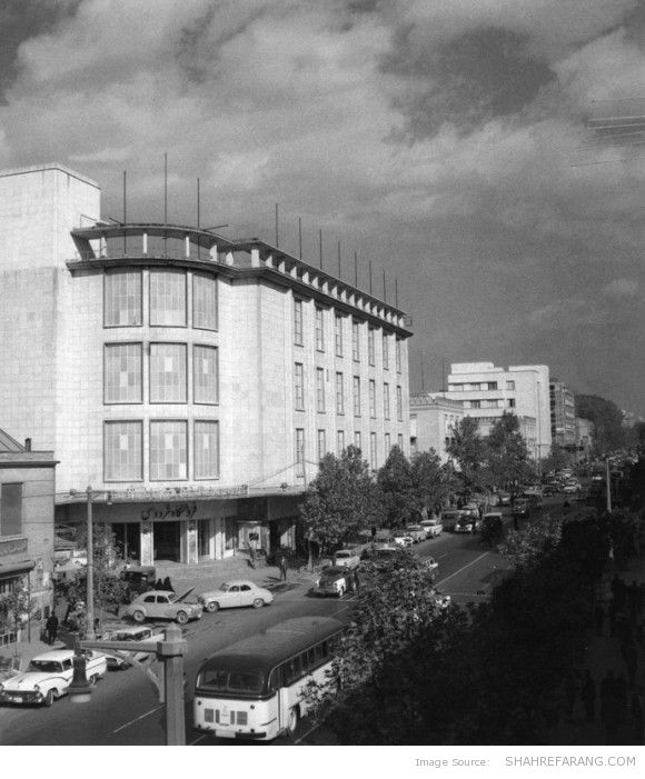 Ferdowsi Department Store, Ferdowsi Avenue, 1961 (Photo by Mahmoud Pakzad)