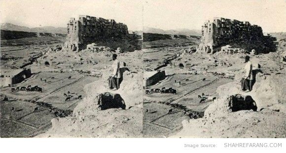 Original Stereoscopic Image of Yazdekhast