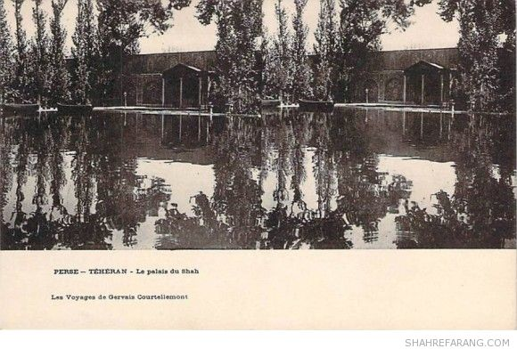 Original Stereoscopic Image of the Shah's Palace