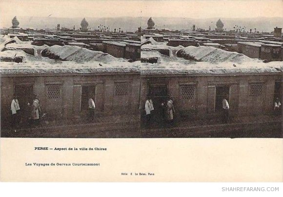 Original Stereoscopic Image of Shiraz