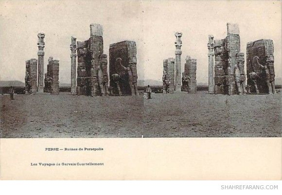 Original Stereoscopic Image of Persepolis